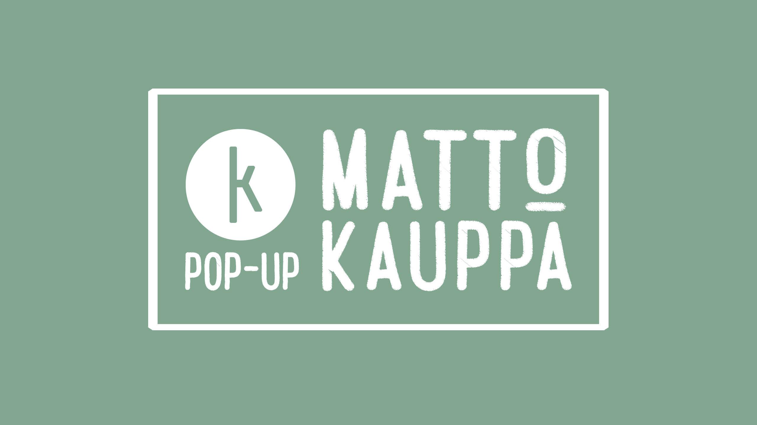 Matto pop-up kauppa